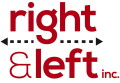 right & left inc. :: Strategy Development, Marketing Planning and Execution Logo